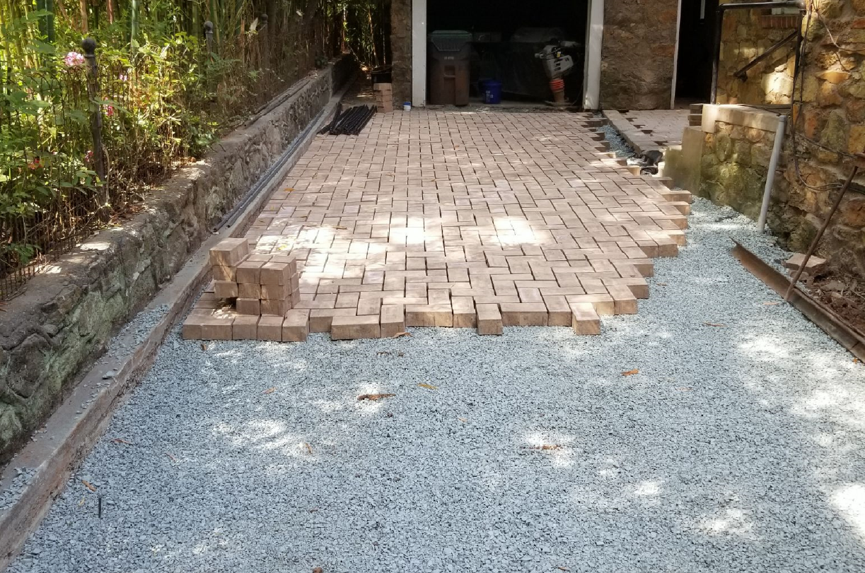Permeable Pavement Installation